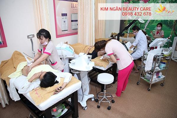 khuyến mãi tháng 6 tại kim ngân beauty care 2