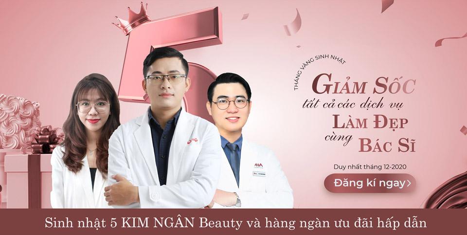 làm đẹp cùng bác sĩ tại kim ngan beauty care 1