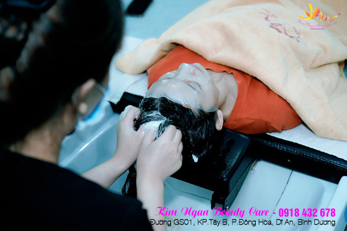 chăm sóc da mặt tại dĩ an bình dương