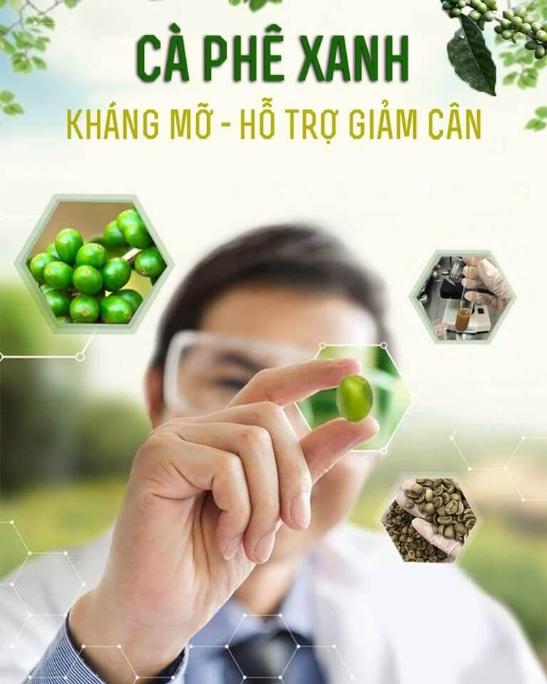 Cà phê xanh kháng mỡ, hỗ trợ giảm cân Thiên Nhiên Việt 2