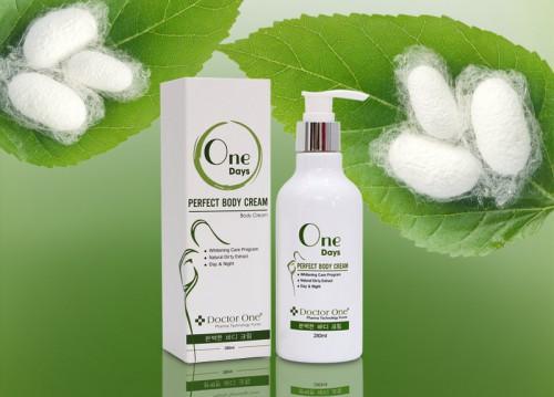Kem Body Kén Tằm Hàn Quốc - Làm trắng, dưỡng ẩm da và tăng cường độ đàn hồi cho da (1)