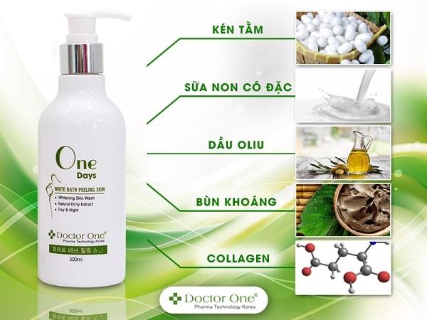 Sữa tắm kén tằm Hàn Quốc - Dưỡng da trắng hồng tự nhiên, cấp ẩm, giảm tình trạng da khô (1)