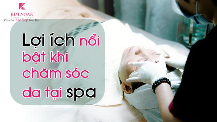lợi ích khi chăm sóc da tại spa
