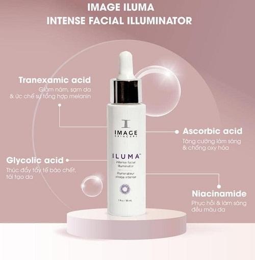 Siêu phẩm trị nám 4 tuần đến từ Mỹ - Serum Image Iluma Intense Facial Illuminator