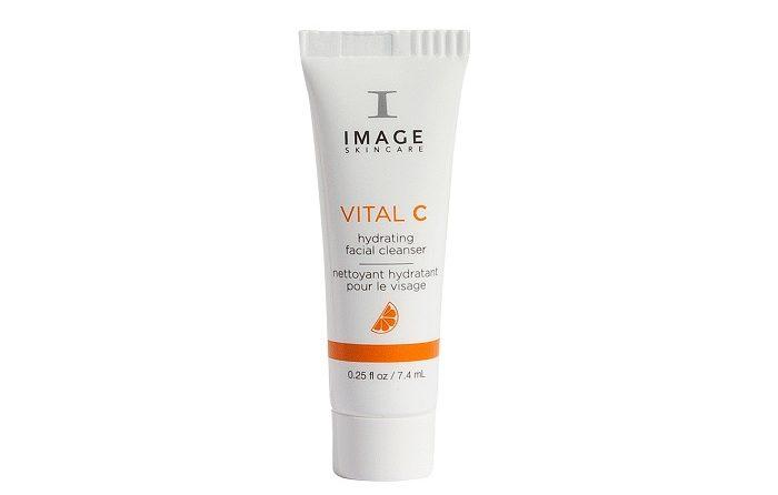 Sữa rửa mặt dưỡng ẩm làm trắng da Image Vital C Hydrating Facial Cleanser – 7.4ml
