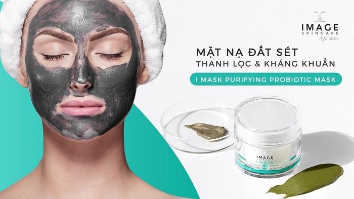 Mặt nạ đất sét sinh học I Mask Purifying Probiotic Mask 1