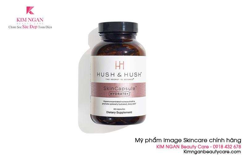 Viên uống cấp ẩm Image Hush & Hush SkinCapsule Hydrate+