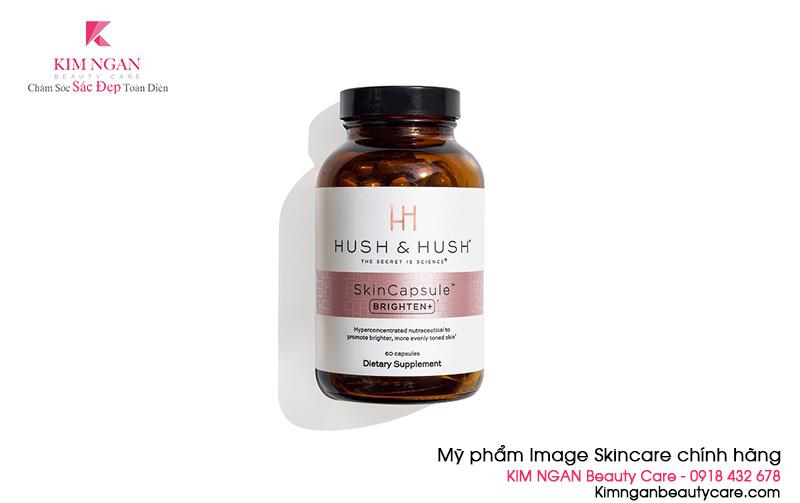 Viên uống dưỡng sáng da Image Hush & Hush SkinCapsule Brighten+